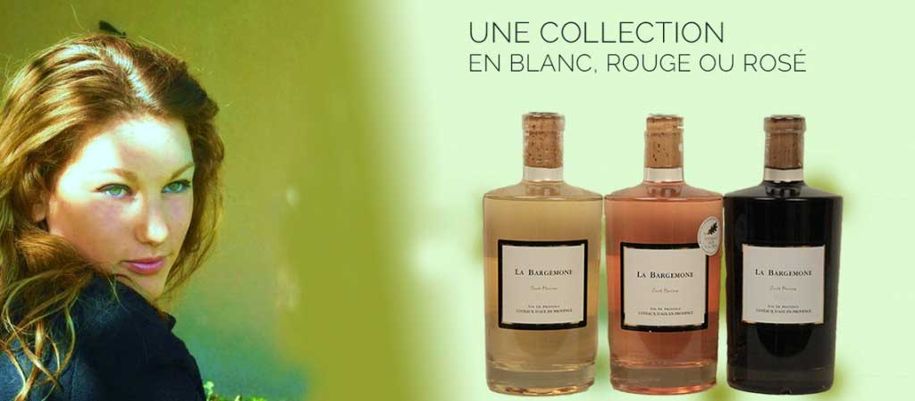 collection vins rouge, blanc et rosé